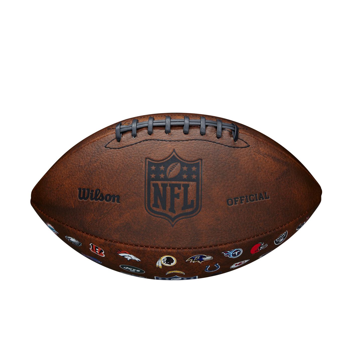 WILSON NFL OFF THROWBACK 32 TEAM LOGO