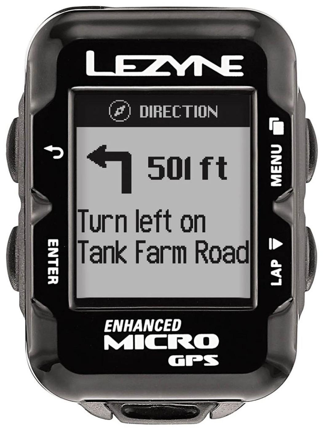 LEZYNE Radcomputer MICRO GPS HR schwarz