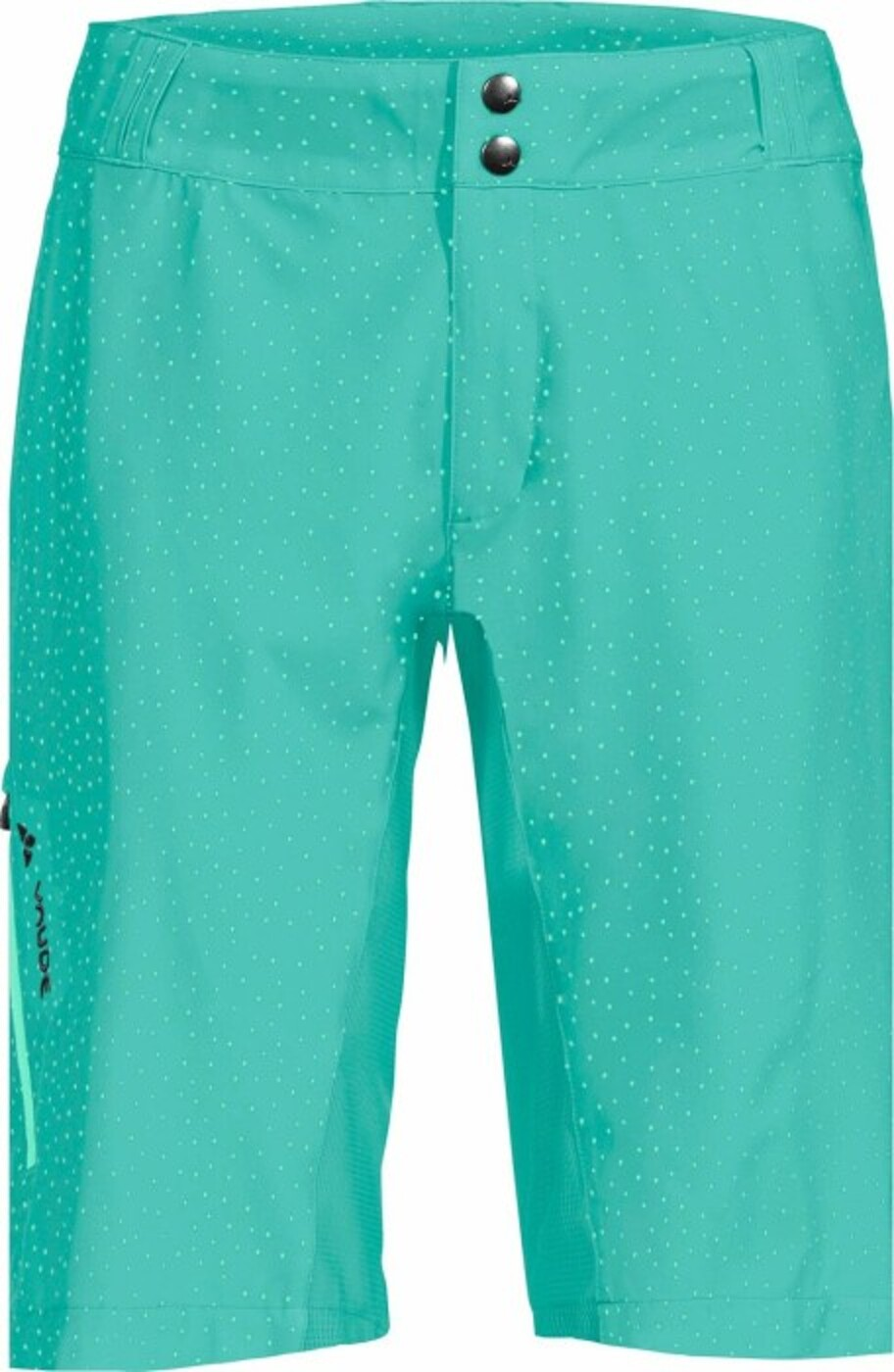 VAUDE WO LIGURE SHORTS, NICKEL GREEN, 44 - Damen