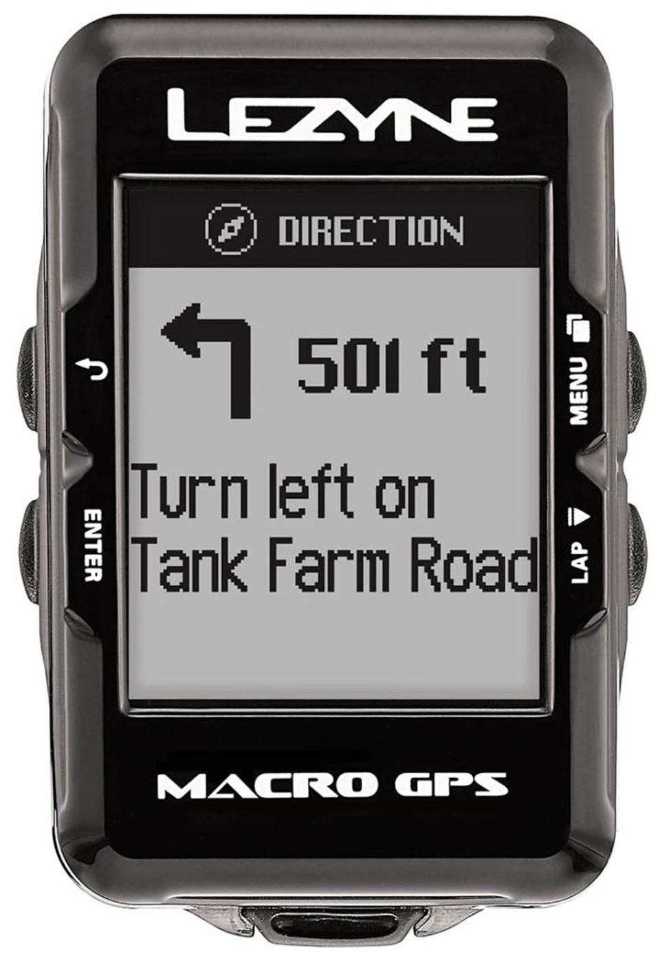 LEZYNE Radcomputer MACRO GPS schwarz