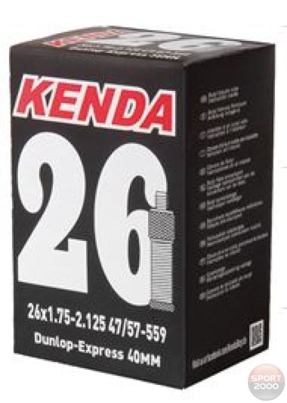 "KENDA Schlauch 24""1.75/2.125 A/V"