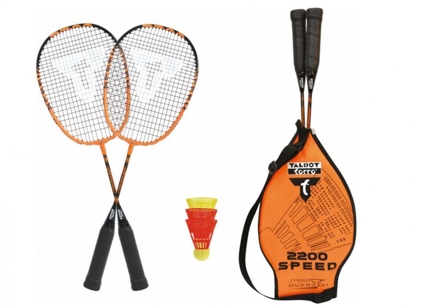 TALBOT TORRO Badminton Set Speed 2200