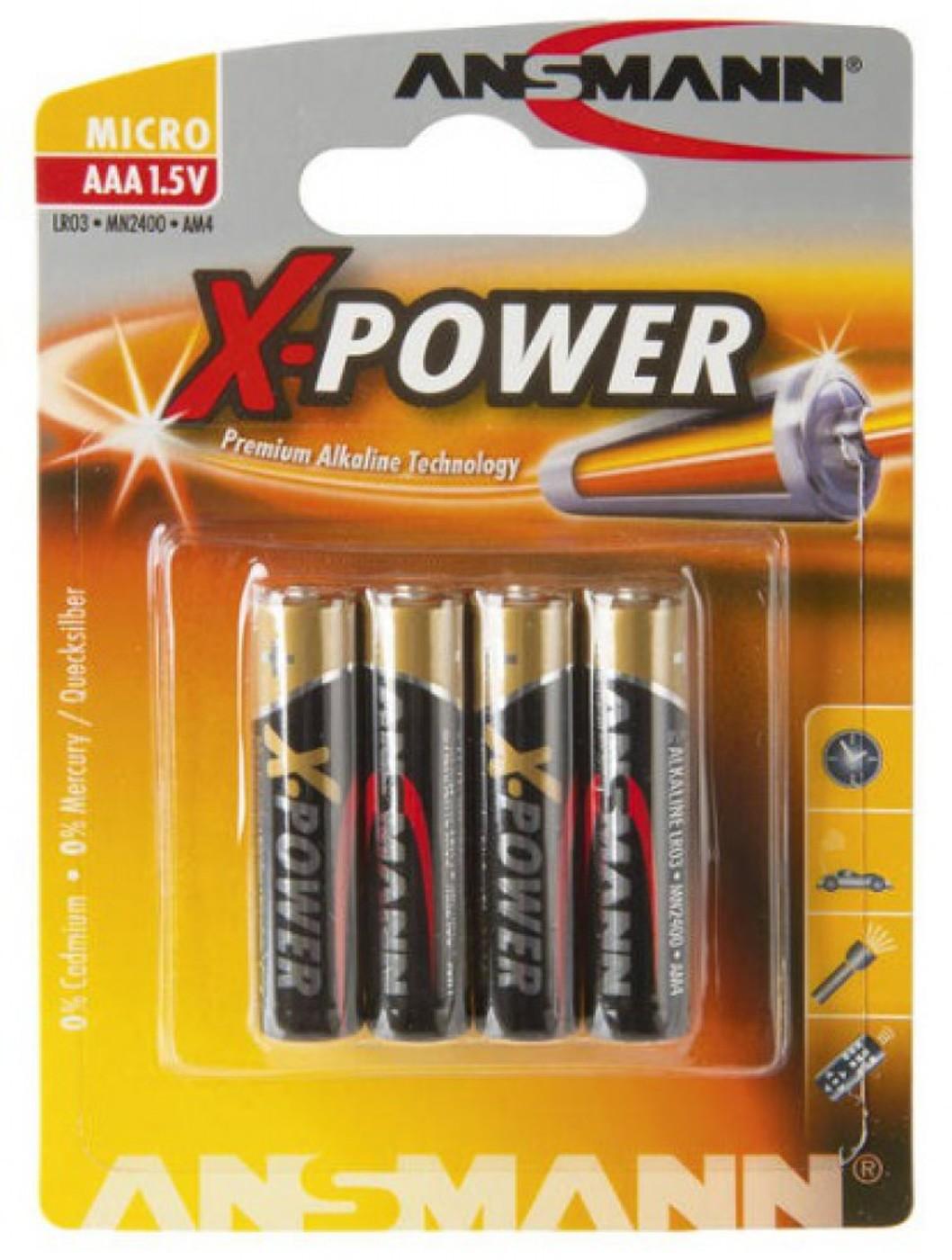 ANSMANN Batterie AAA