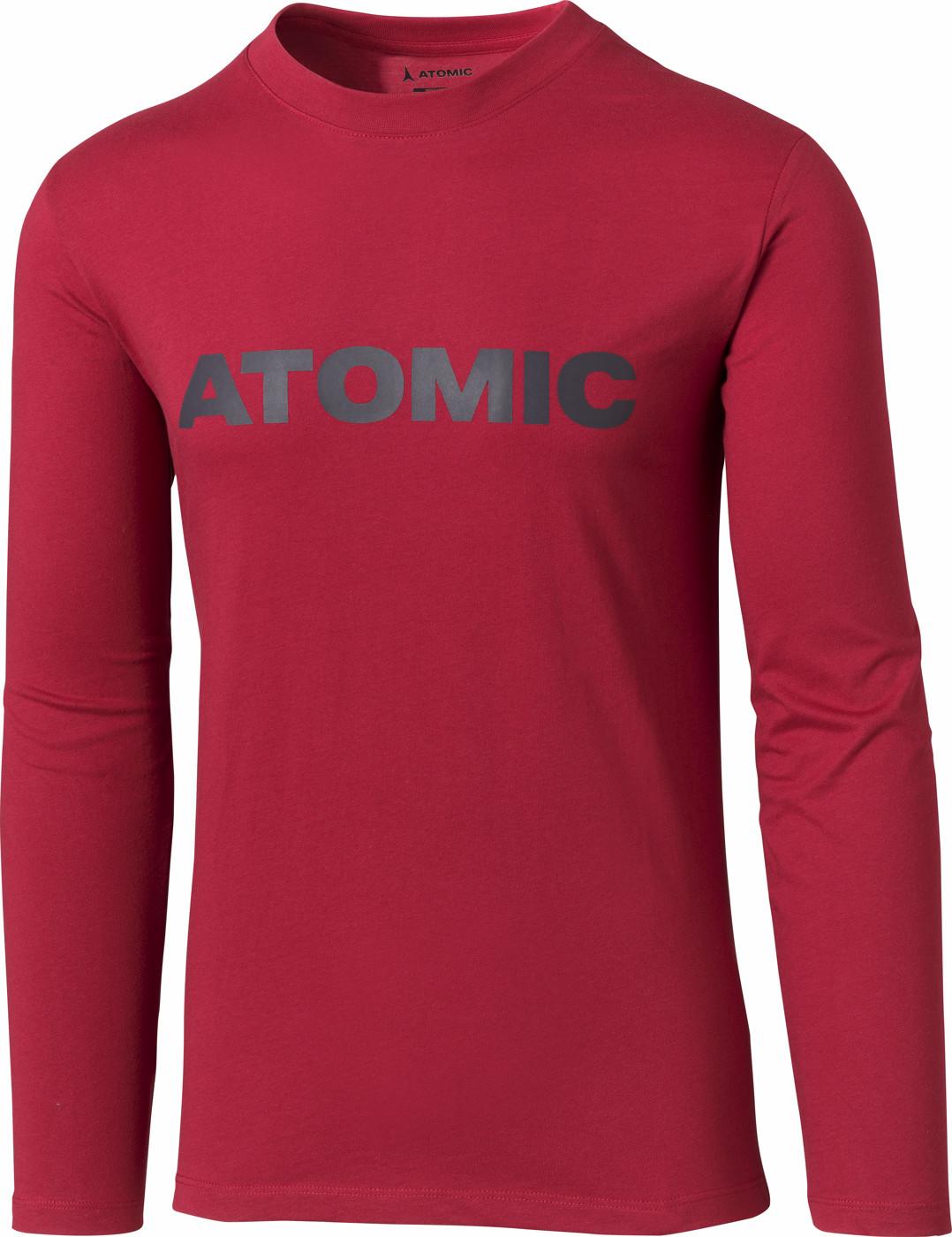 ATOMIC ALPS LS T-SHIRT Rio Red M - Herren