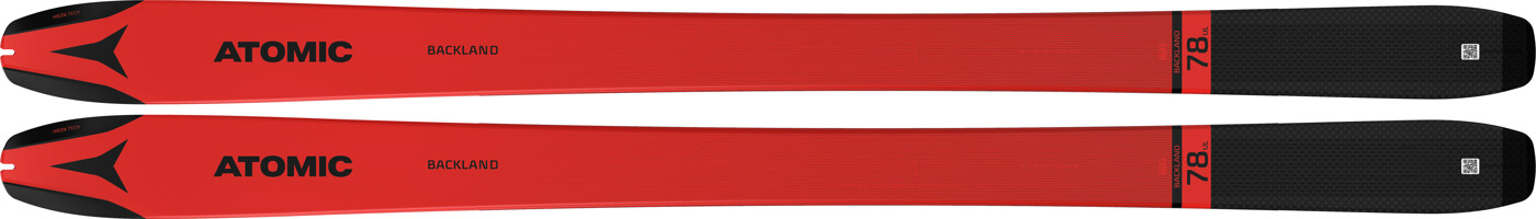 ATOMIC N BACKLAND 78 UL Red/BLACK 149
